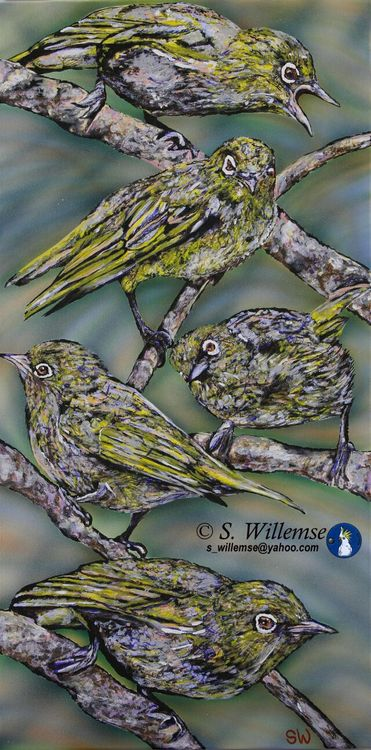 Witoogies by Susan Willemse - search and link Fine Art with ARTdefs.com