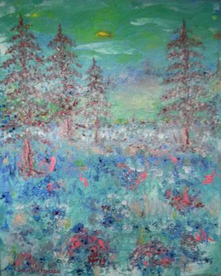 Splendor of the Day by Samuel J. Francazio - search and link Fine Art with ARTdefs.com