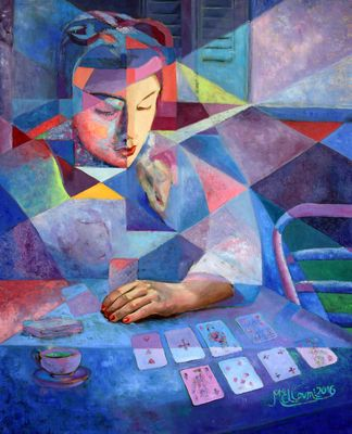 EMOTIONAL ENERGY by Elloumi  Mourad - search and link Fine Art with ARTdefs.com