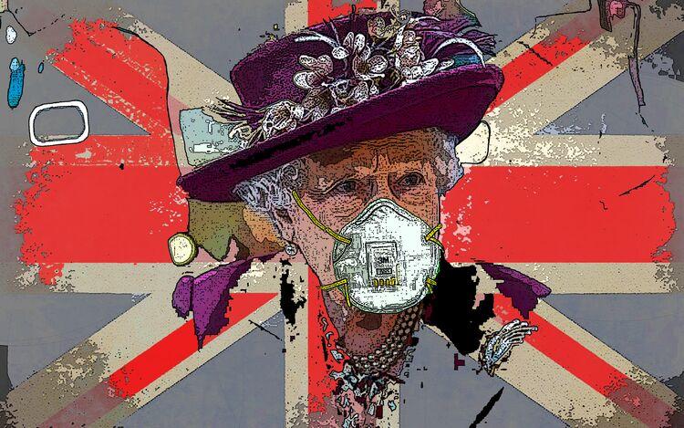 Elizabeth Masked by Graham edward rhodes - search and link Fine Art with ARTdefs.com