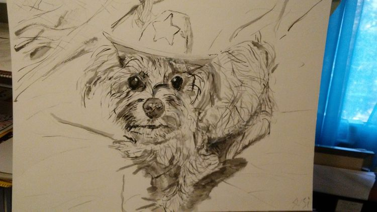 L'il Sheriff Lucy by Susan Royer - search and link Fine Art with ARTdefs.com