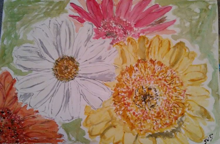 Daisy Power by Susan Royer - search and link Fine Art with ARTdefs.com