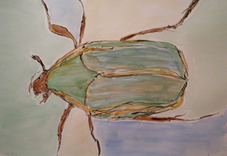 Junie Bug by Susan Royer - search and link Fine Art with ARTdefs.com
