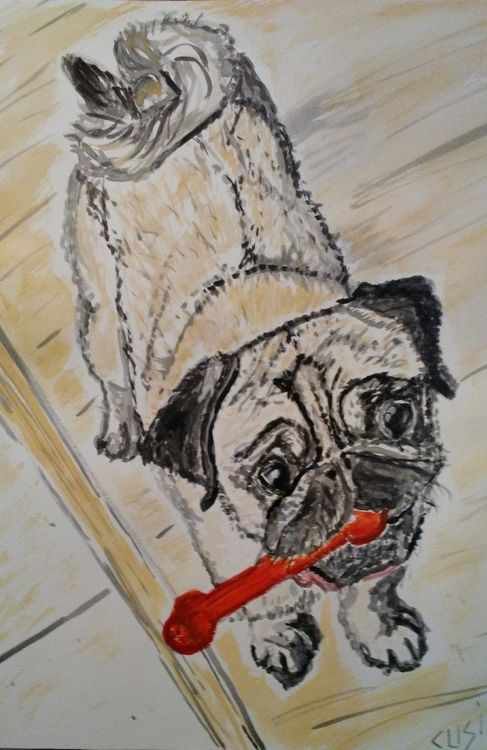 Flirt by Susan Royer - search and link Fine Art with ARTdefs.com