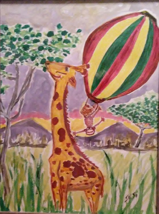 Nursery Painting by Susan Royer - search and link Fine Art with ARTdefs.com