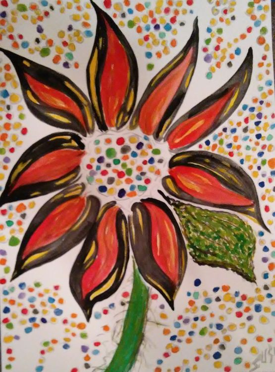 Funflower Sunflower by Susan Royer - search and link Fine Art with ARTdefs.com
