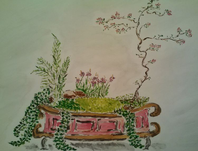 Fantasy Bonsai 1 by Susan Royer - search and link Fine Art with ARTdefs.com