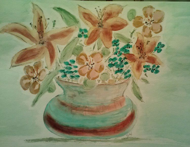 Val's Vase by Susan Royer - search and link Fine Art with ARTdefs.com