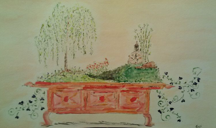Fantasy Bonsai 2 by Susan Royer - search and link Fine Art with ARTdefs.com
