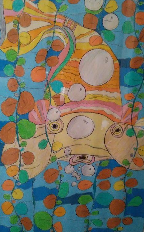 Bubble-eyed Goldfish by Susan Royer - search and link Fine Art with ARTdefs.com