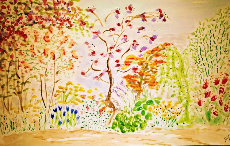 Peacelit by Susan Royer - search and link Fine Art with ARTdefs.com