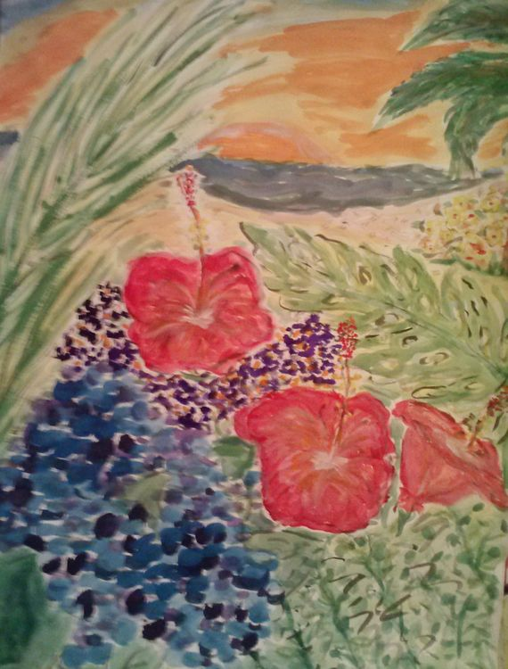 Paradiso Peek by Susan Royer - search and link Fine Art with ARTdefs.com