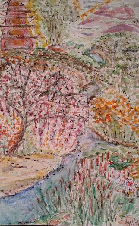 Peaceplace by Susan Royer - search and link Fine Art with ARTdefs.com