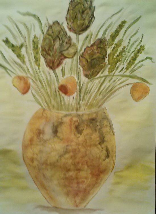 Figgy Vase by Susan Royer - search and link Fine Art with ARTdefs.com
