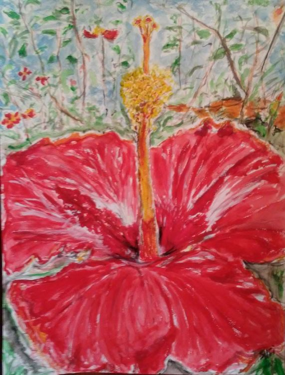 Dominican Bloom by Susan Royer - search and link Fine Art with ARTdefs.com