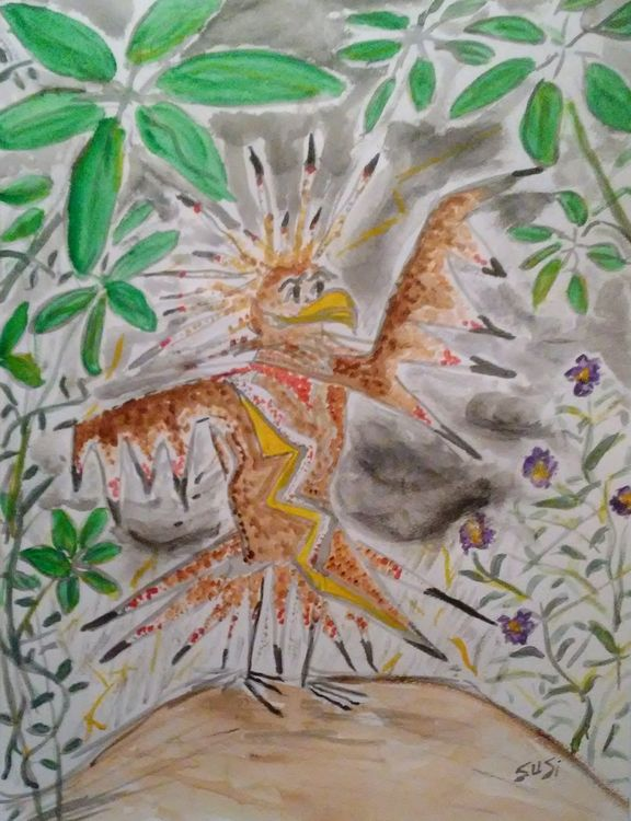 Thunderbird by Susan Royer - search and link Fine Art with ARTdefs.com