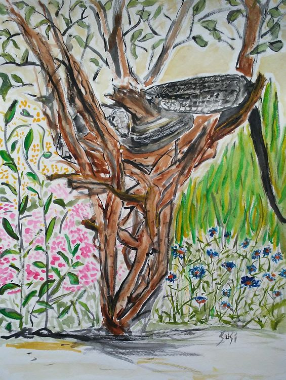 House Snake by Susan Royer - search and link Fine Art with ARTdefs.com