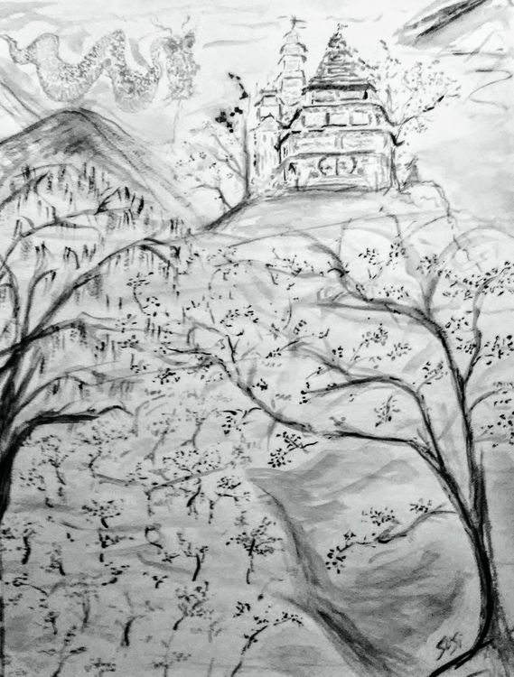 Dragon Dreamscape by Susan Royer - search and link Fine Art with ARTdefs.com