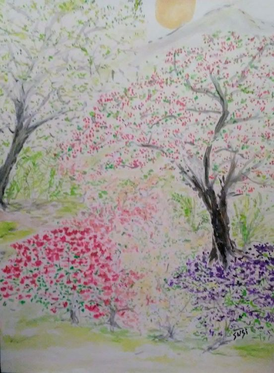Pollen Produce by Susan Royer - search and link Fine Art with ARTdefs.com