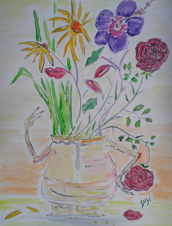Take Vase by Susan Royer - search and link Fine Art with ARTdefs.com