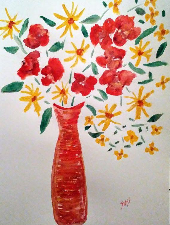Moms Arrangement by Susan Royer - search and link Fine Art with ARTdefs.com