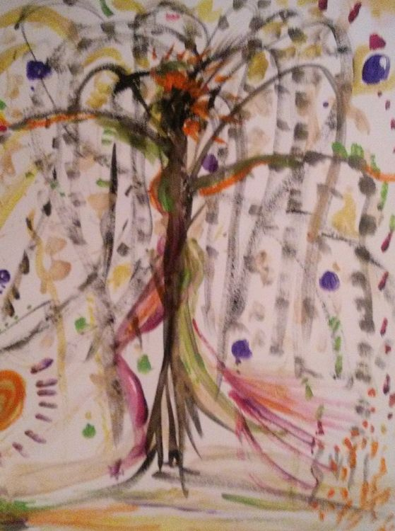 Dryad by Susan Royer - search and link Fine Art with ARTdefs.com