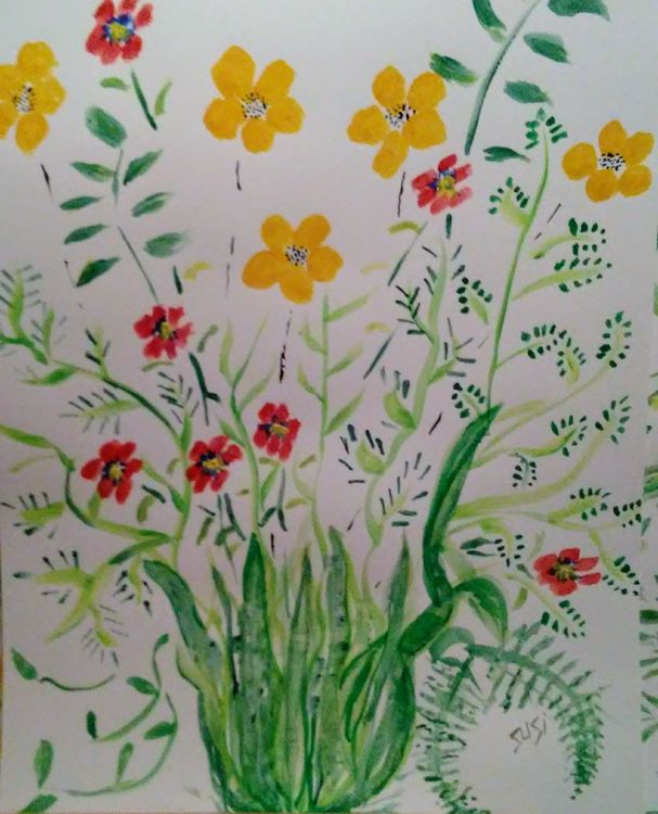 Studio Planting by Susan Royer - search and link Fine Art with ARTdefs.com