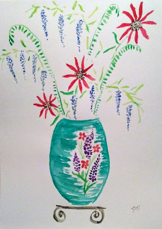 Sorta Susi Vase by Susan Royer - search and link Fine Art with ARTdefs.com