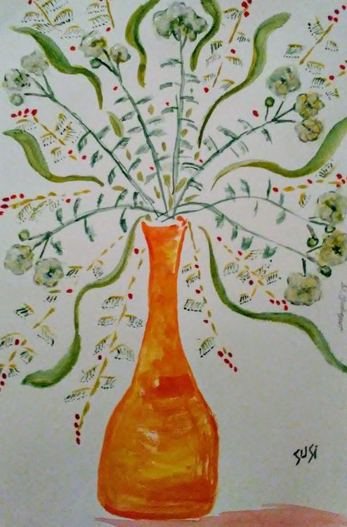 Sprout Spew by Susan Royer - search and link Fine Art with ARTdefs.com