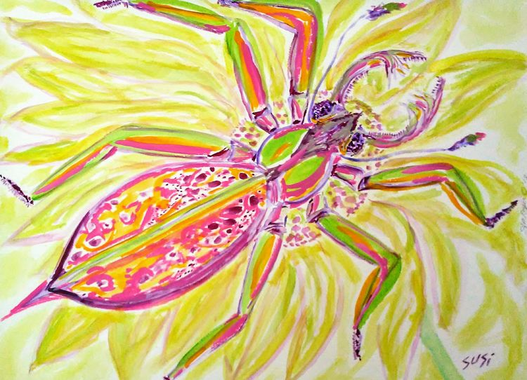 Merry Mandi by Susan Royer - search and link Fine Art with ARTdefs.com