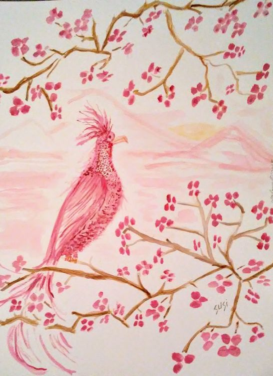 Rosecolored Wisher by Susan Royer - search and link Fine Art with ARTdefs.com