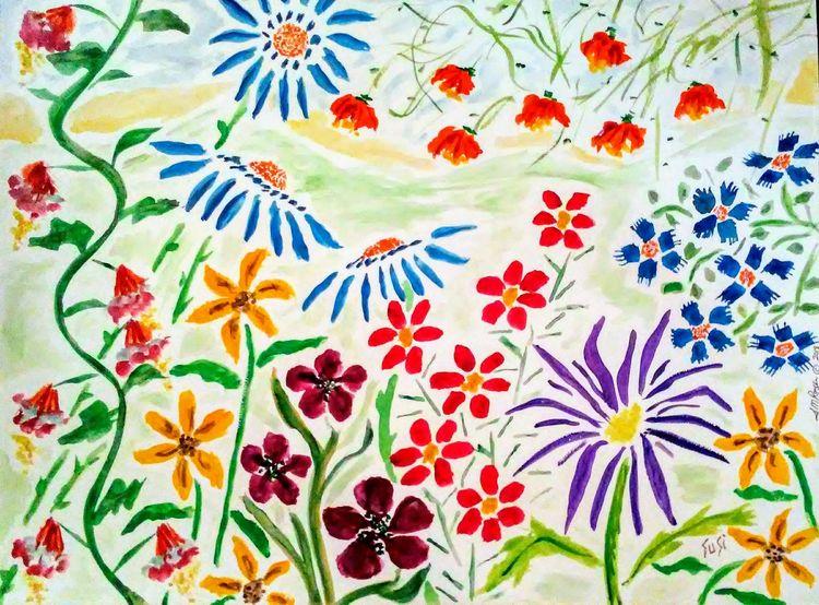 Vivacious Vista by Susan Royer - search and link Fine Art with ARTdefs.com