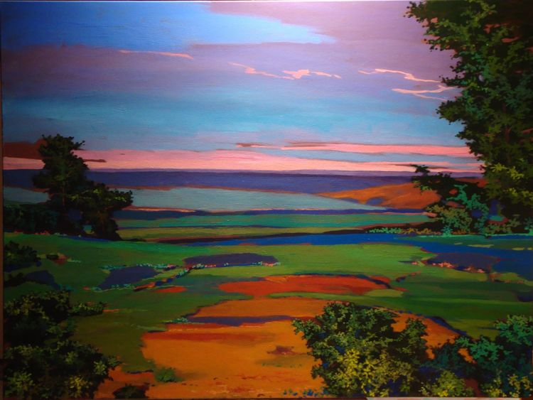 Surreal landscape by Todd Norris - search and link Fine Art with ARTdefs.com